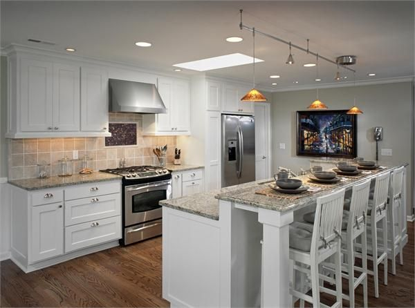 Kitchen Counter Bar Cabinets Refacing Clever Way To Raise Your Add A Breakfast Find Style Raised On Homeportfolio