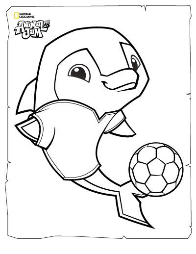 Animal Jam Coloring Pages | The Daily Explorer | Classroom | Pinterest