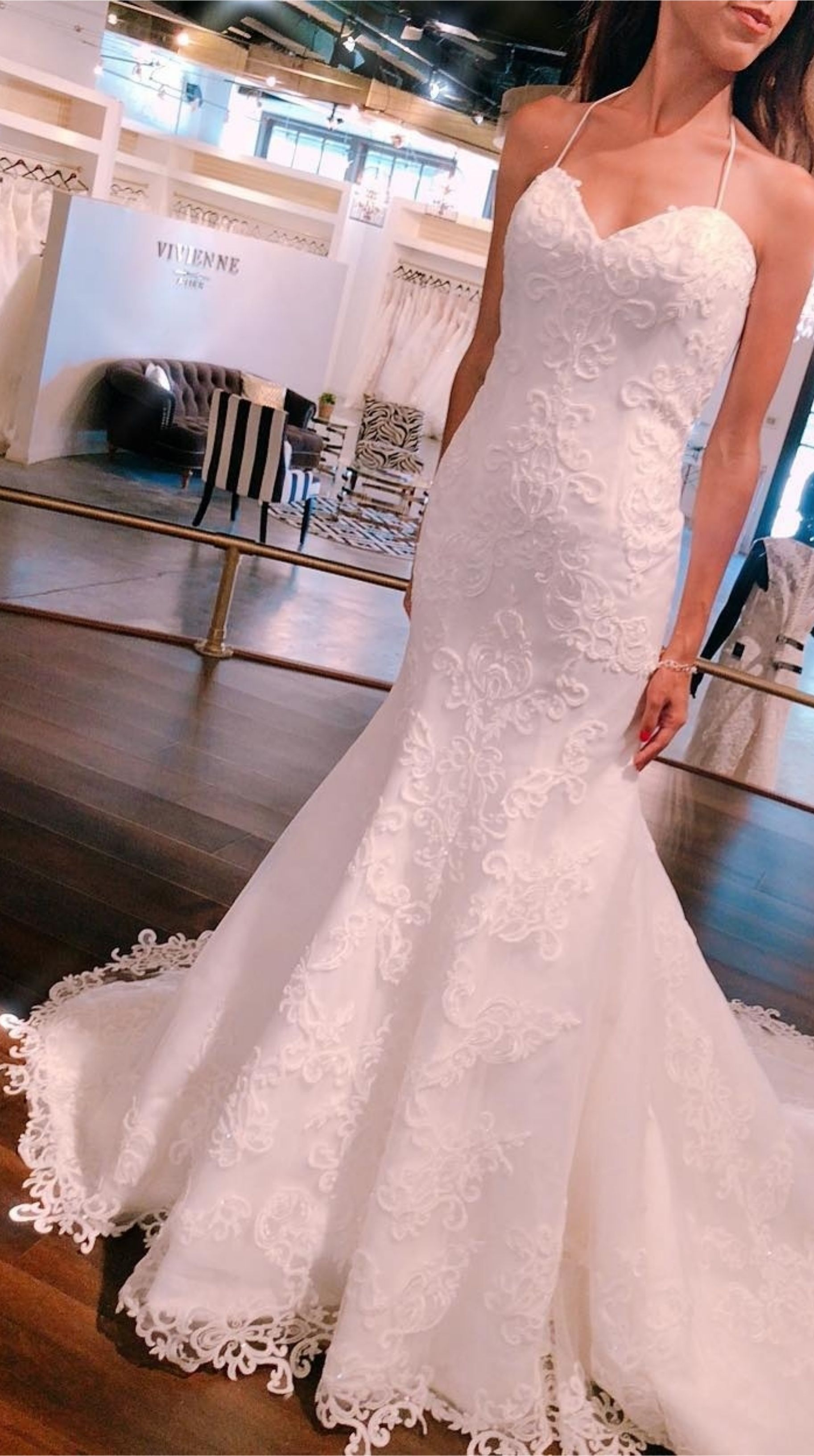 Fitting On This 2019 New Collection Dress Weddingdress