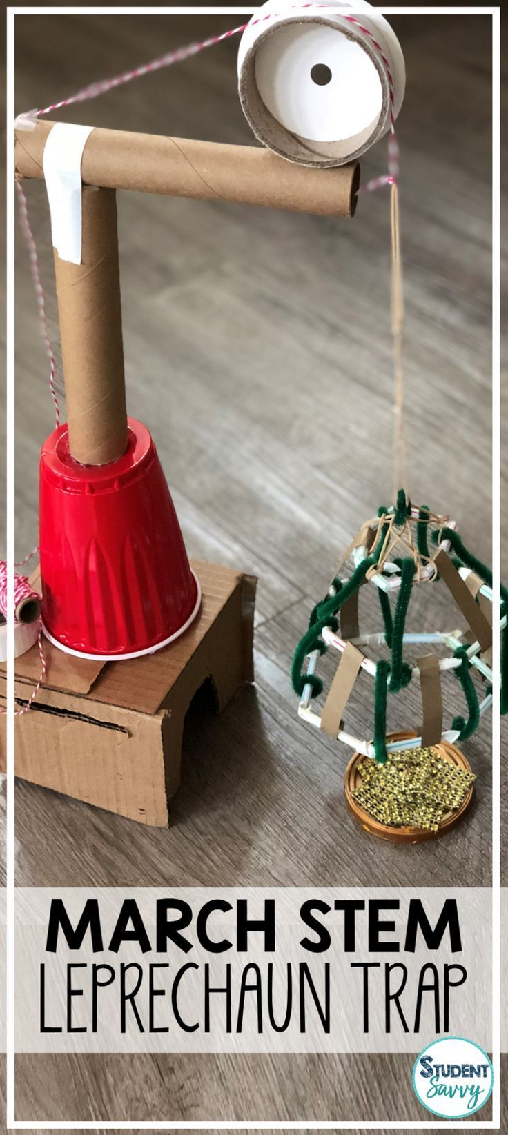 Saint Patrick's Day STEM Challenges (March STEM) – Student Savvy #stemactivitieselementary