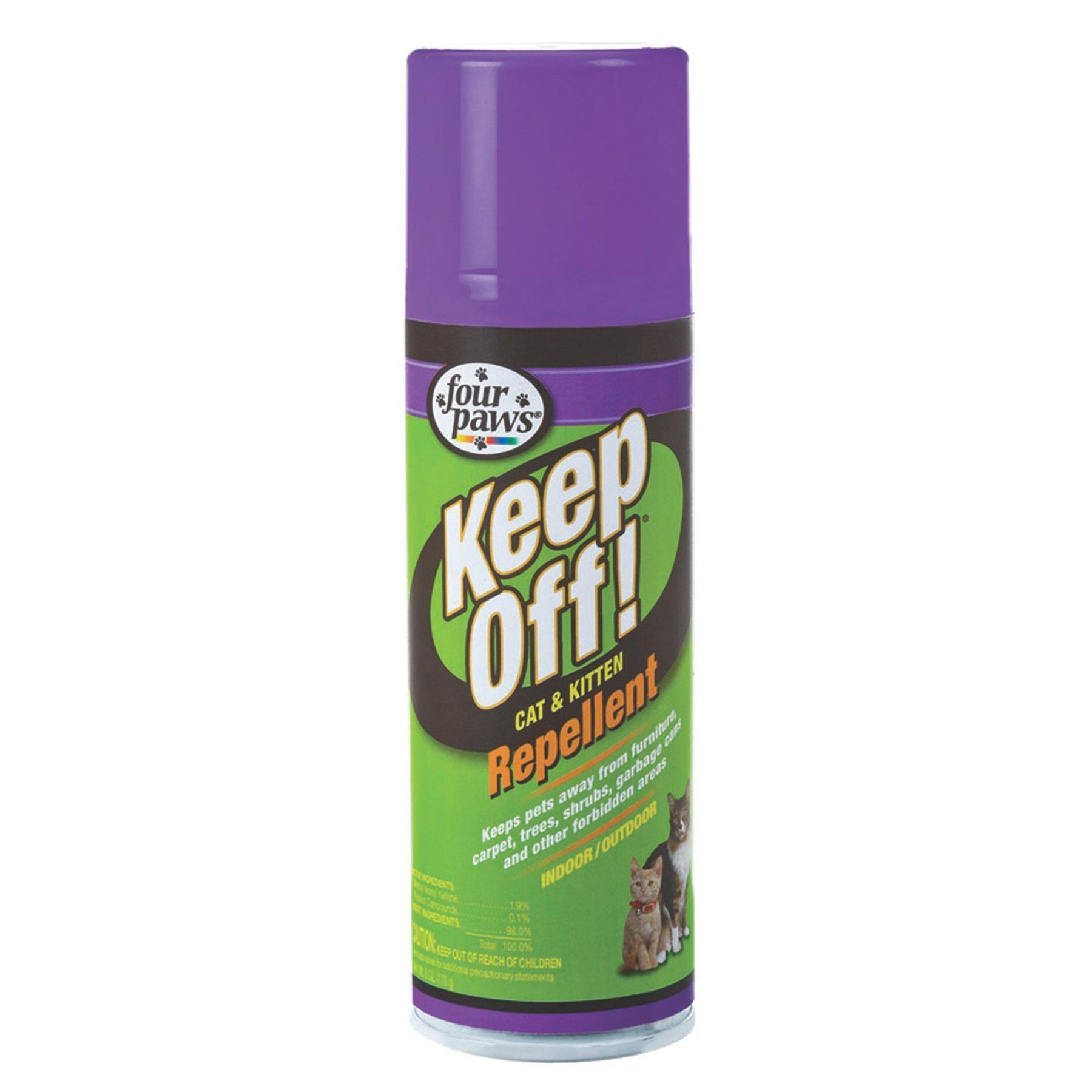 Four Paws Keep Off Indoor/Outdoor Cat Repellent 30502