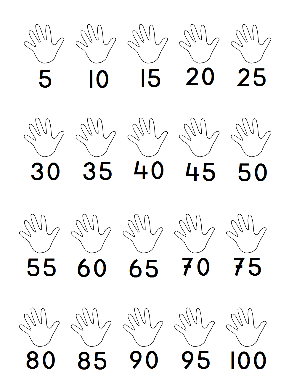 Skip Counting By 5 39 S Math Pinterest Skip Counting