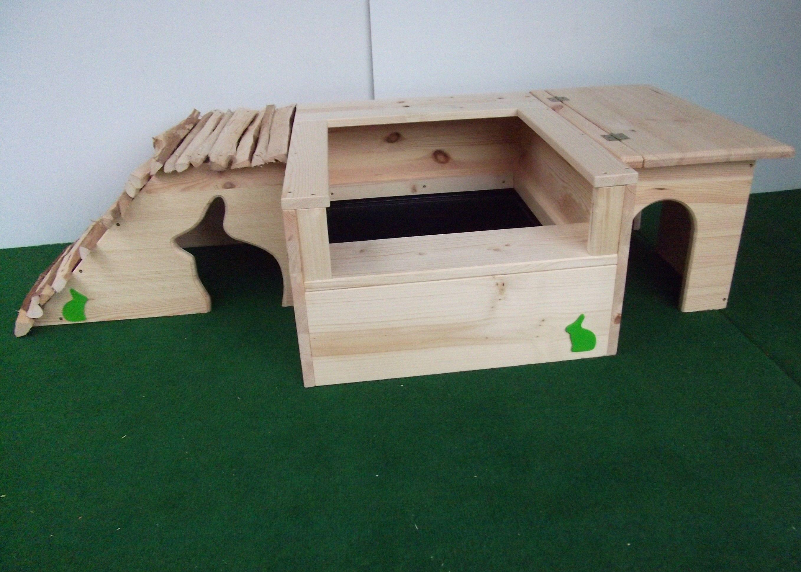 Kaninchenbedarf Kiste Kaninchen Kaninchengehege