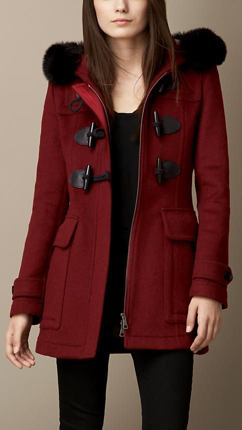 Women's Clothing | Burberry | Wool, Duffle coat and Coats & jackets