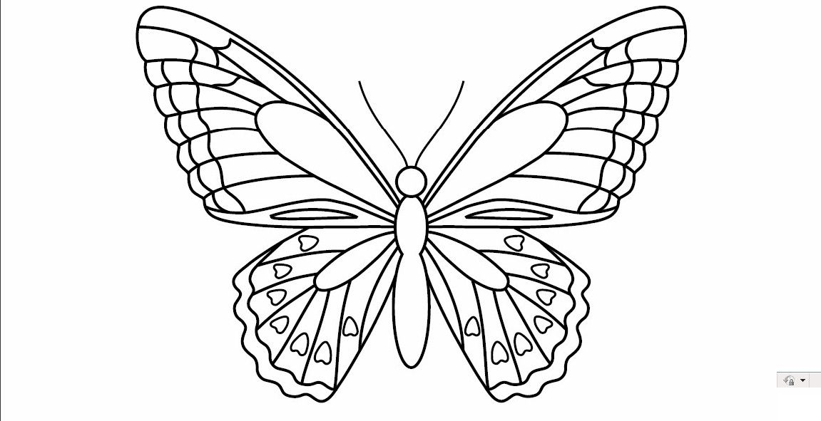 Printable butterflies pattern template butterflies pinterest crafts butterfly template for Butterfly templates to print