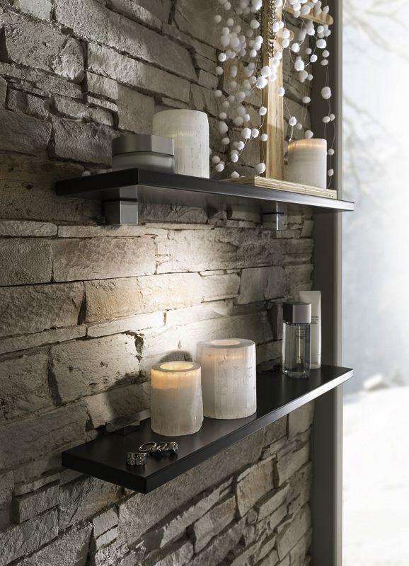 sweet anthracite tablette mur 578 800 d co. Black Bedroom Furniture Sets. Home Design Ideas