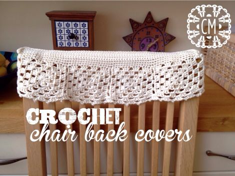 Crochet chair back covers chair covers pinterest crochet crochet chair back covers by cara medus free crochet diagram caramedus ccuart Gallery