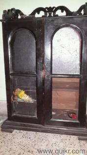 Antique Burmese Teak Almirah From Calcutta Hardwood