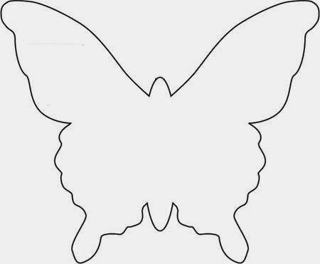 Manualidades Con Mis Hijas Mariposas Recicladas Template