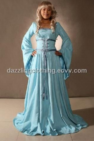 Medieval And Renaissance Dresses | Medieval Renaissance Maiden Gown ...