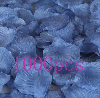 Top Quality 1000pcs Silk Rose Flower Petals Leaves Wedding Decorations Party Festival Table Confetti Decor Home & Garden