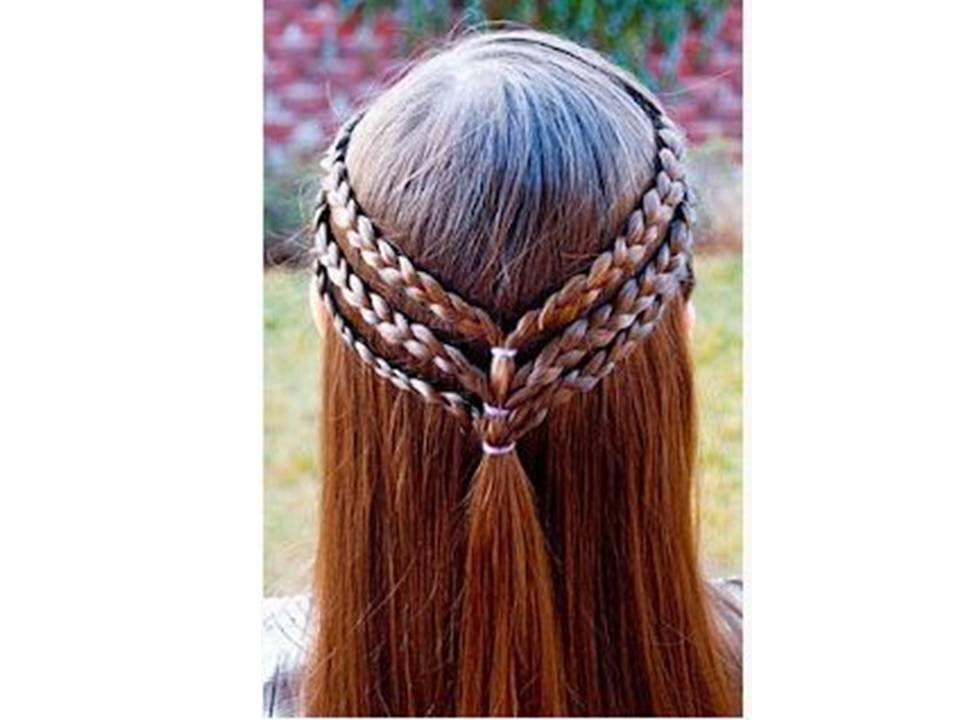 Como Hacer Peinados Para Niña Faciles  - peinados de nia faciles de hacer