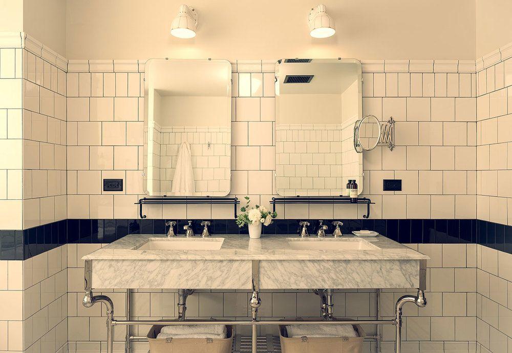 Hotels Roman And Williams Bathroom Design Chicago Athletic Association