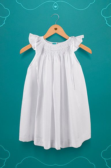 fe1eec744 White Christening Gown with bonnet – Suma Clothing