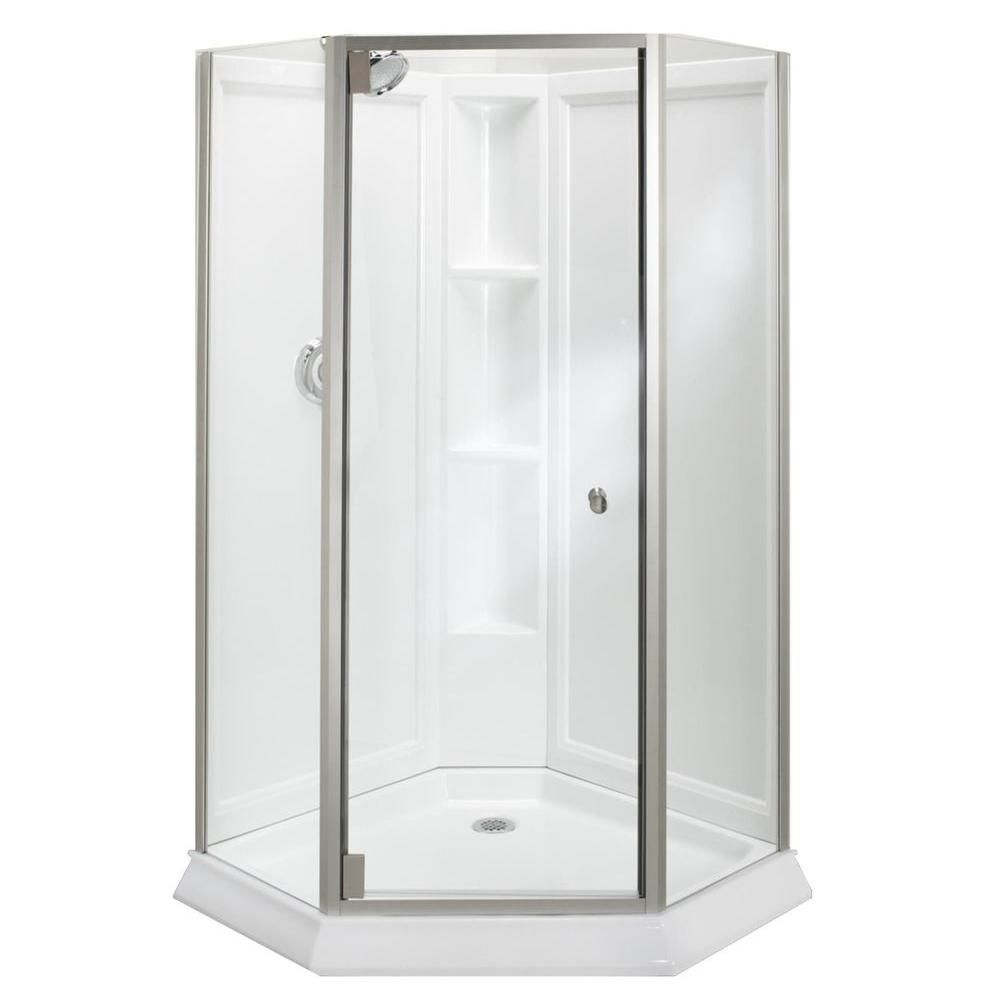 Kohler Neo Angle Frameless Shower Doors Corner Shower Kits Neo