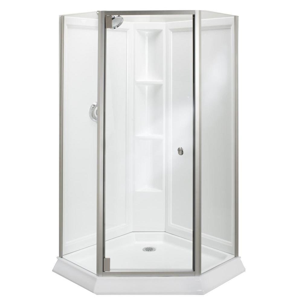 Kohler Neo Angle Frameless Shower Doors Corner Shower Kits Shower Doors Corner Shower