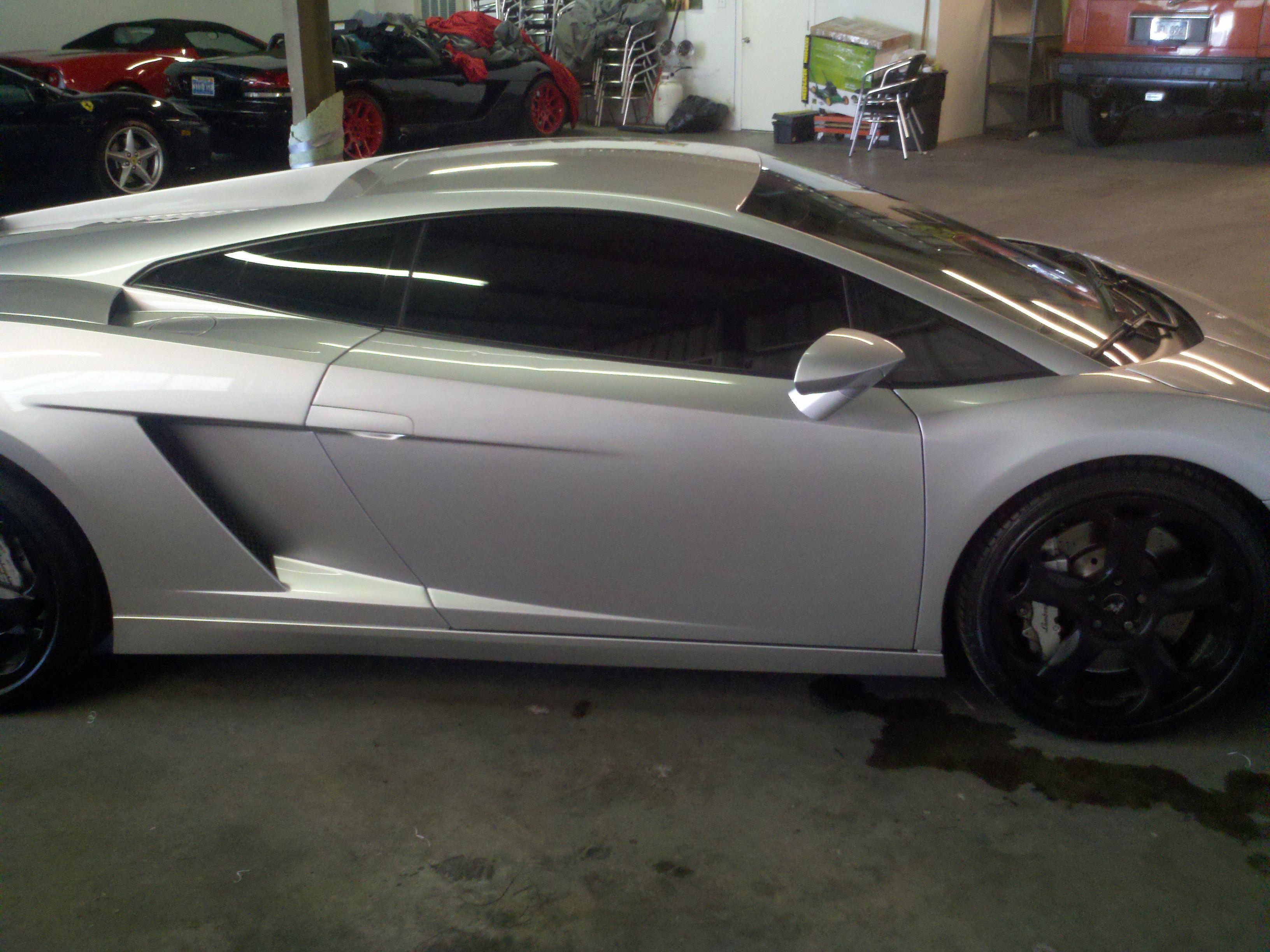 Beautifiul Lamborghini Tinted By Time 2 Tint Window Tinting