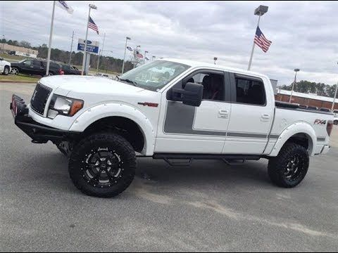 2012 Ford F 150 Supercab Fx4 Downeast Off Road Lifted Truck Ford