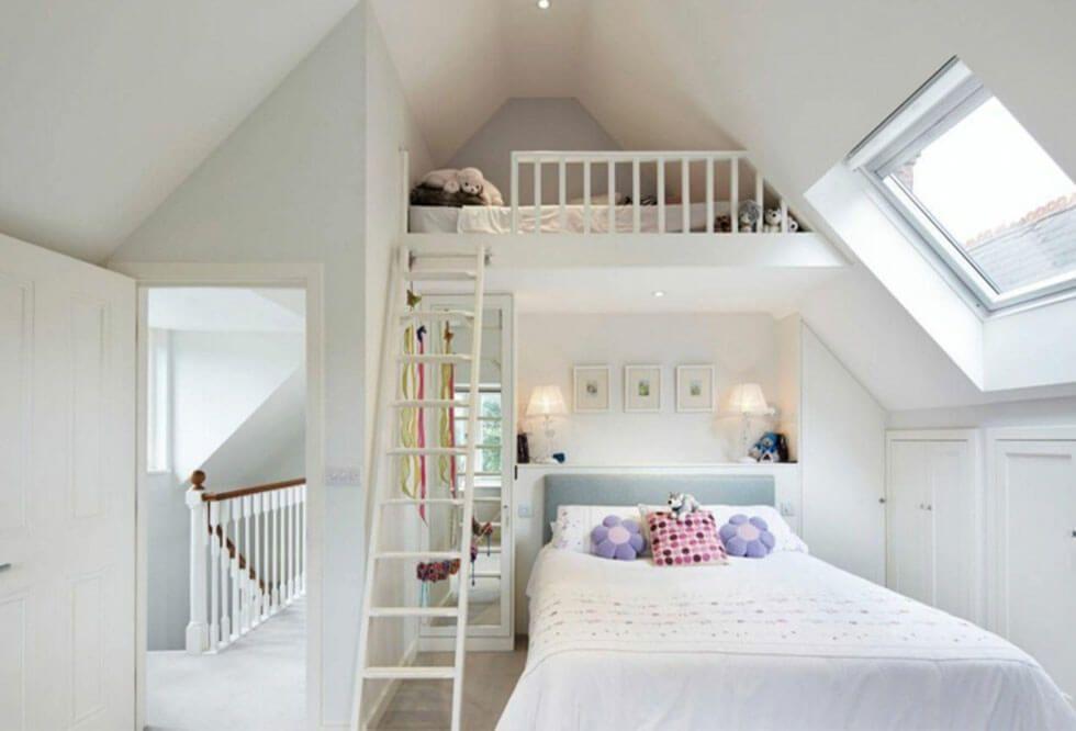 10 Stylish Loft Bedroom Ideas   Furniture Choice