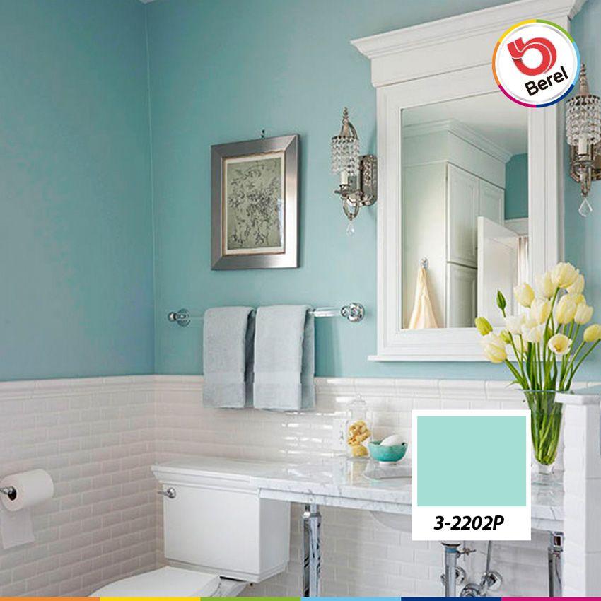 Los colores claros son ideales para espacios pequeos