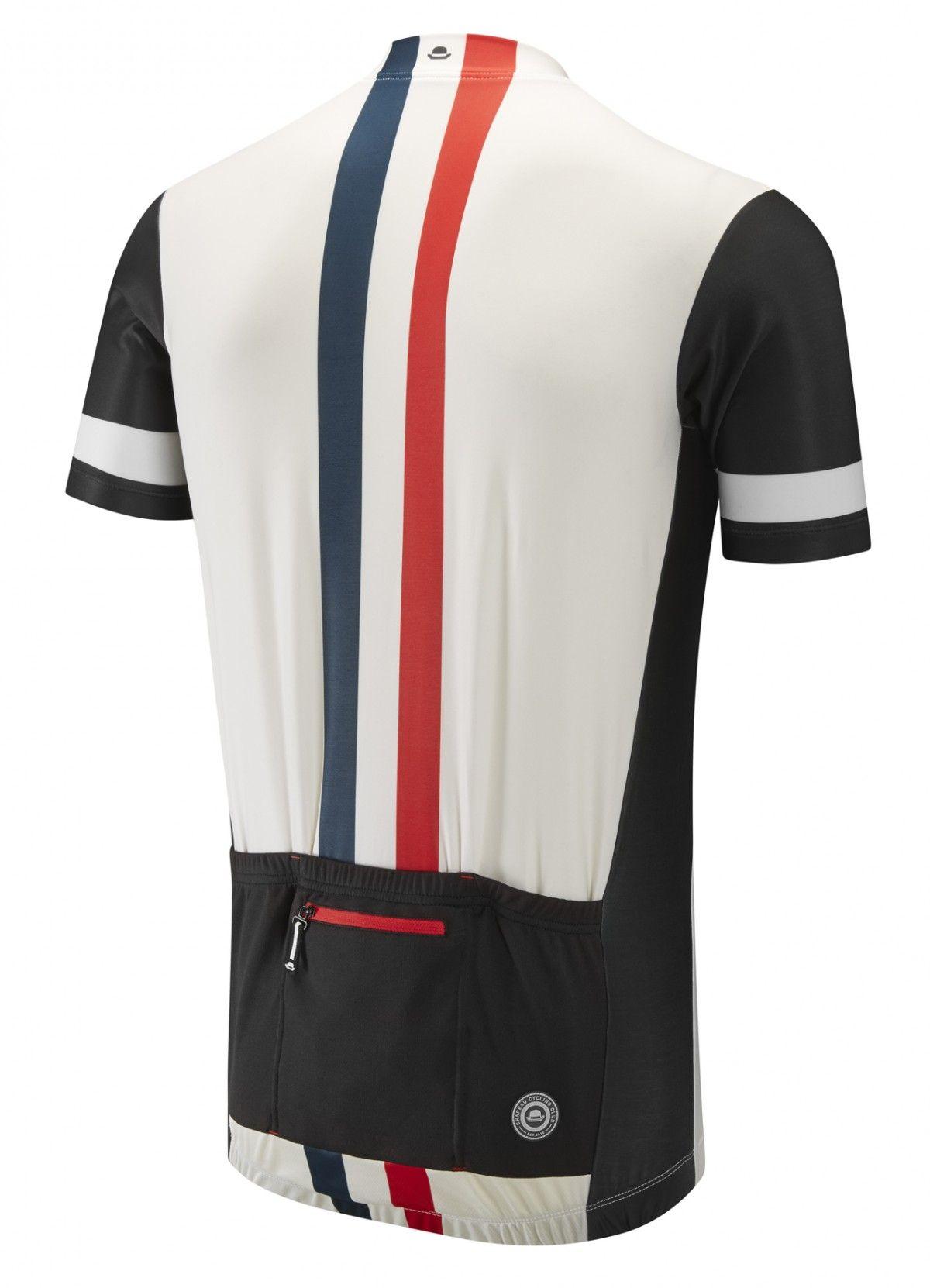 Etape Jersey - White Vertical Stripe - Cycling Jerseys - Men - Chapeau! 1023b147e