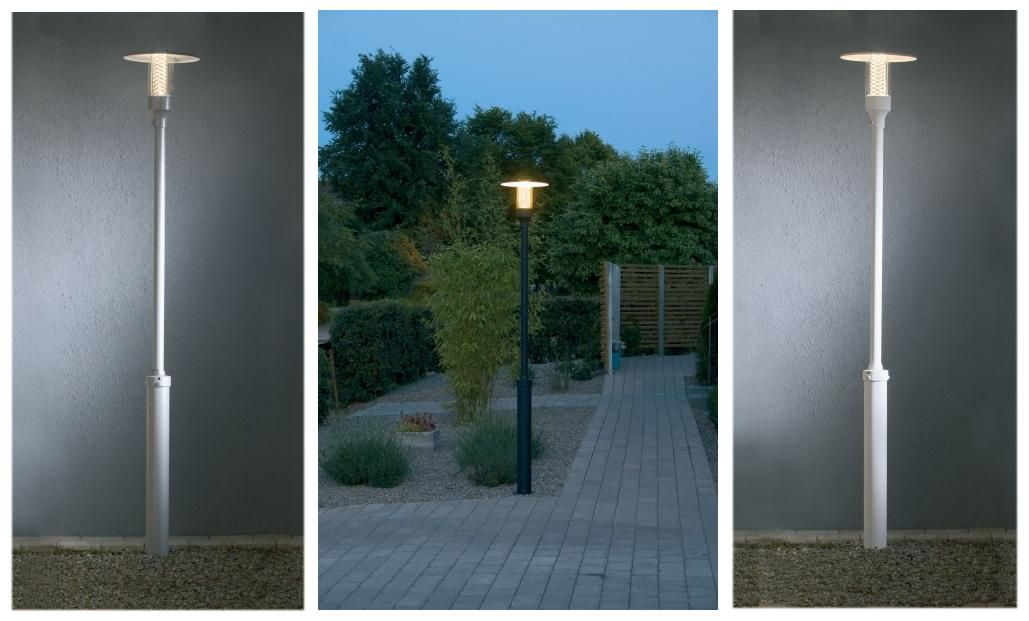 Stylish Modern Lamp Post Outdoor Posts Lights Driveway Lighting