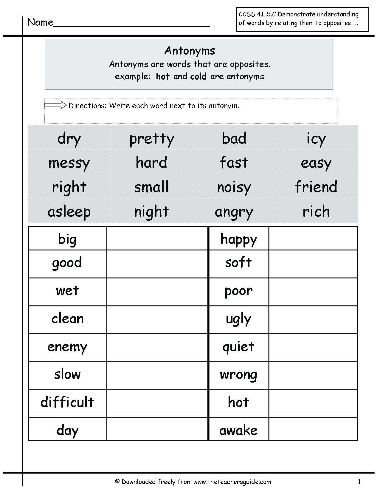 Grammar Worksheet 4th Grade Statistics Worksheet For 4th