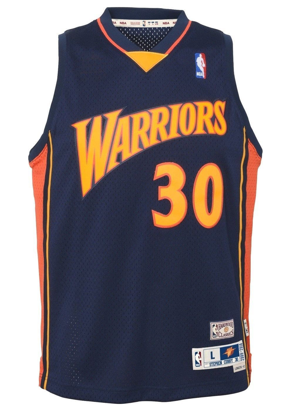 the best attitude 6e507 f6d36 Stephen Curry Golden State Warriors NBA Youth Throwback 2009 ...
