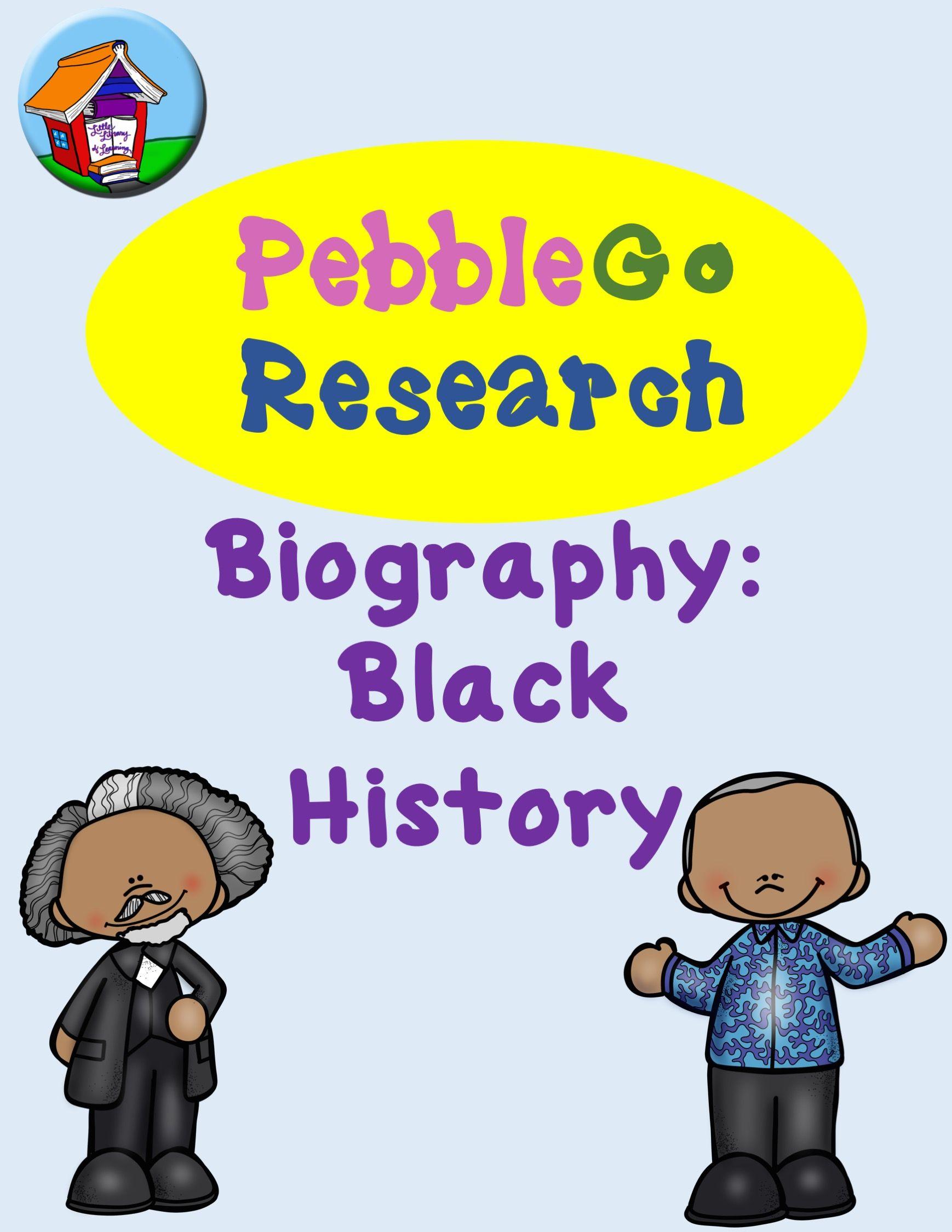 Pebblego Biography Black History Research