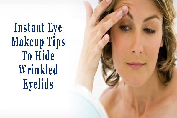 How to get rid of puffy eyes and hide bags. An anti