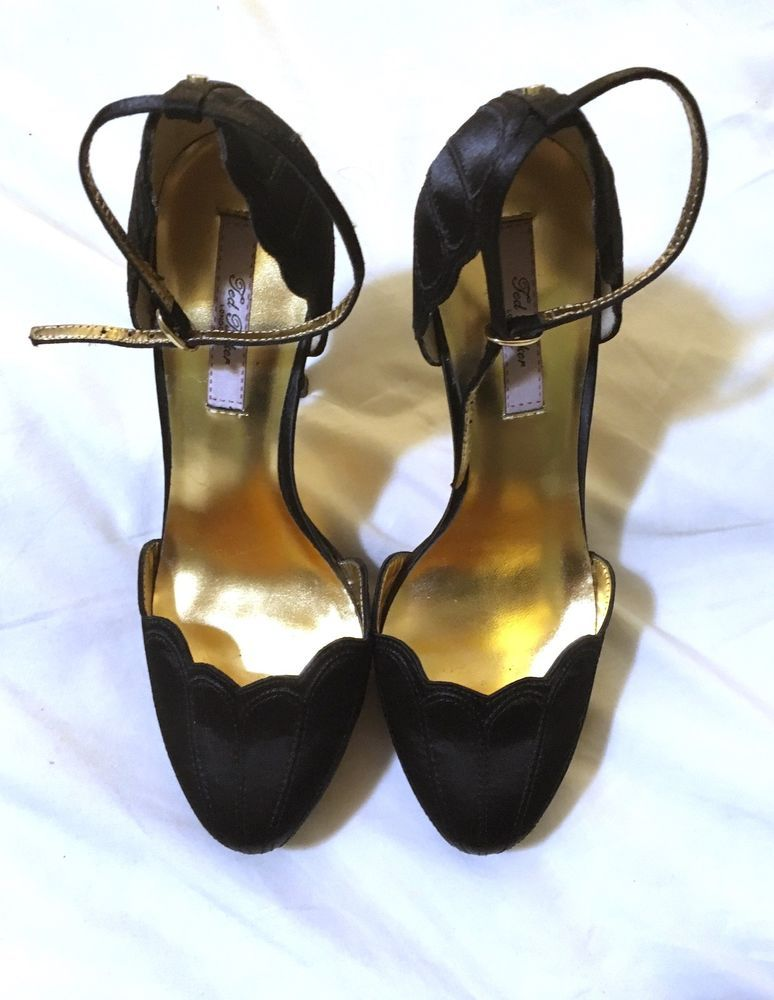 f9210a13863 Women s UK 4 Black Ted Baker Stilettos Pump Heels  fashion  clothing  shoes