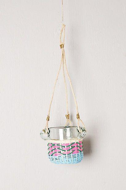 Lupine Hanging Planter #anthropologie macetas Pinterest