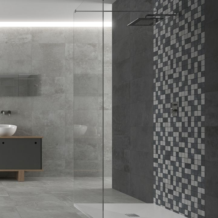 Bathroom Mosaic Tiles Grey Bathroom Tiles Tile Bathroom Mosaic Bathroom Tile Mosaic Bathroom