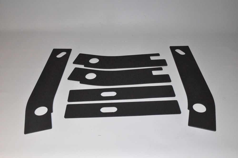 6 Pc Frame Repair Rusted Shackle Weld Plates 1986 1995 Jeep Wrangler Yj Rear Jeep Wrangler Yj Jeep Wrangler Wrangler