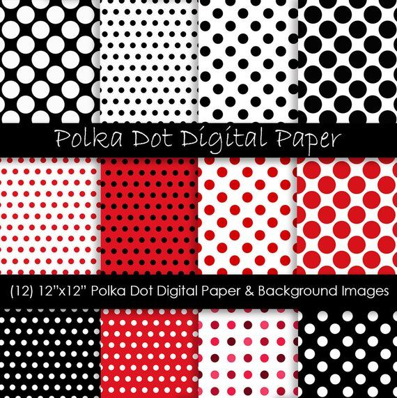 Pin By Linda Pieters On Valentine Party Polka Dot Background Digital Paper Polka Dots