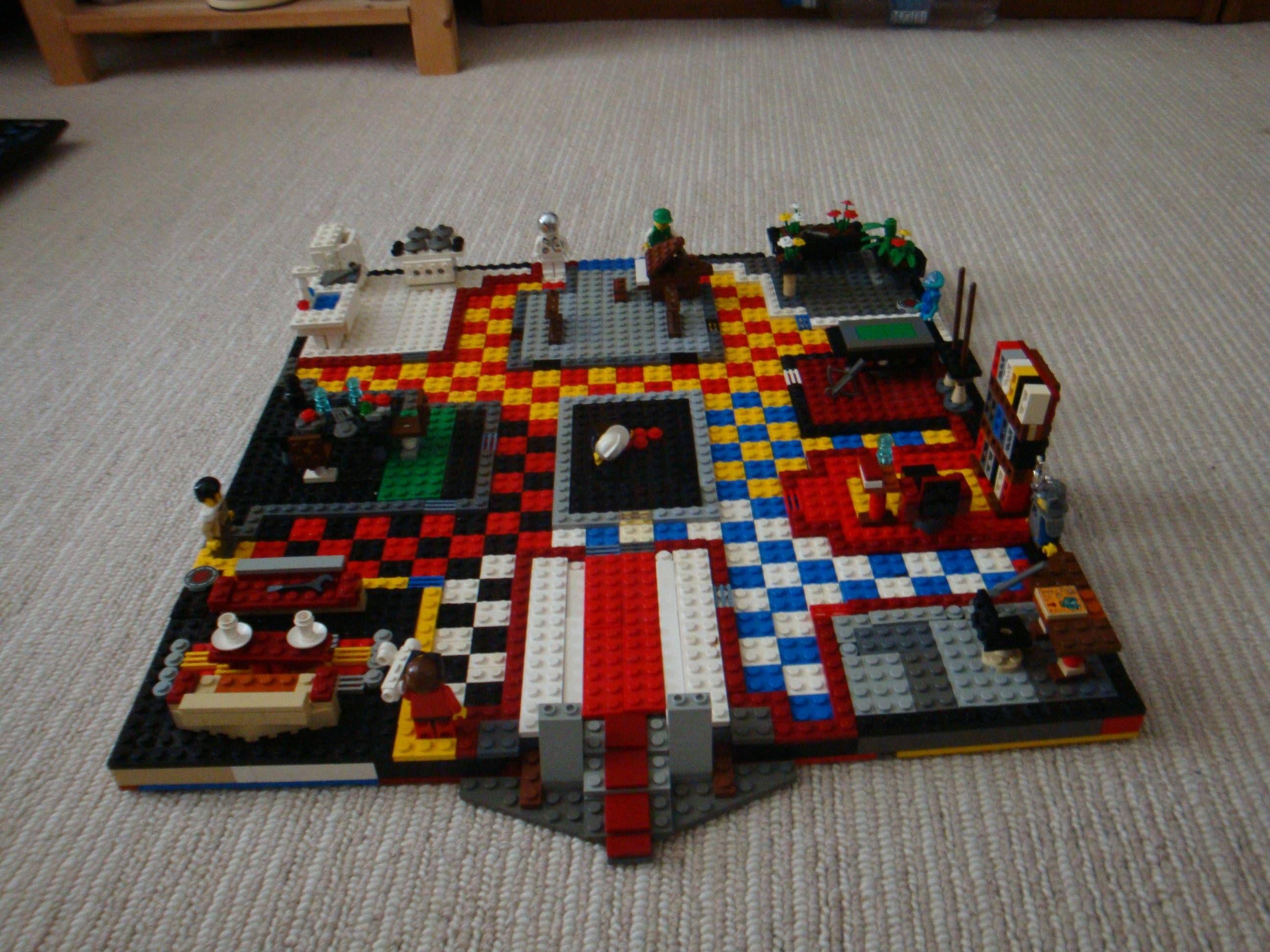 I love Clue and I love Legos. WOW! Great idea! Cool lego