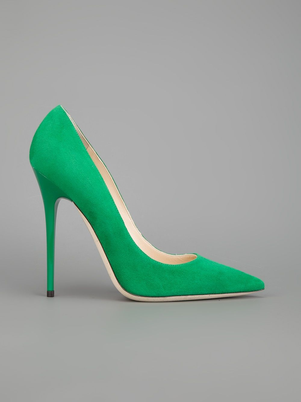 bed1b716e JIMMY CHOO - Sapato verde. 7 | Shoes II | Scarpin verde, Sapatos ...