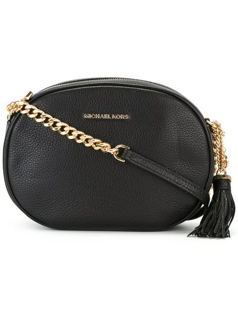 MICHAEL MICHAEL KORS Ginny Medium Crossbody Bag.  michaelmichaelkors  bags   shoulder bags  leather  crossbody   56f94a9db41d9
