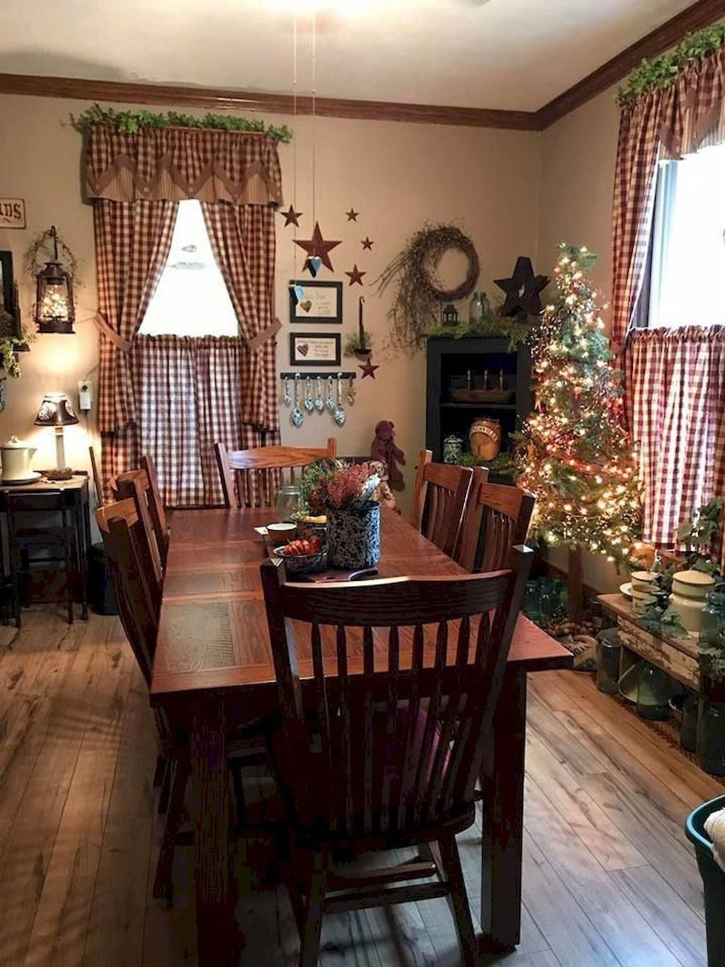 oneonroom.com | Primitive dining rooms, Country dining ...