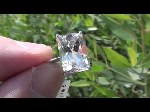 Champagne Topaz 6.18ct  18ct Gold Ring