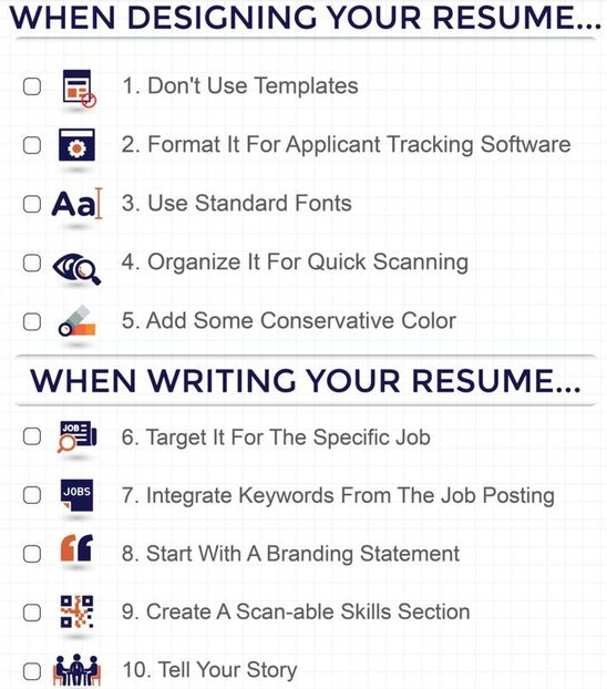 professional resume writers and editors resume writing tips
