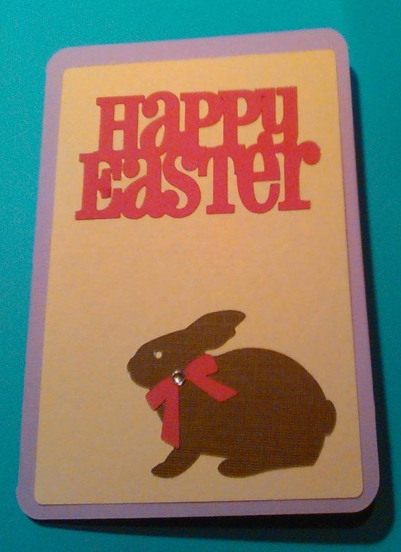 Happy Easter by SimpleMadeByHand on Etsy