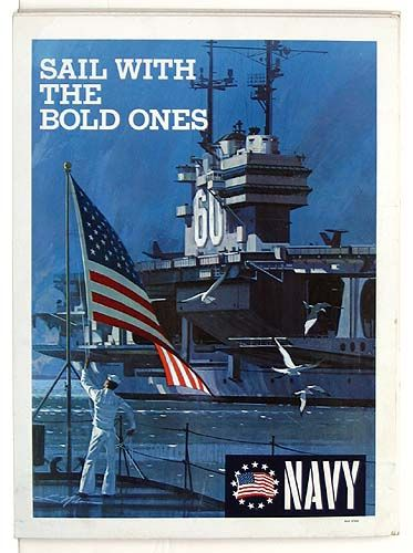 Us Navy Recruiting Poster Military Poster Navy Day Us Navy Recruiting