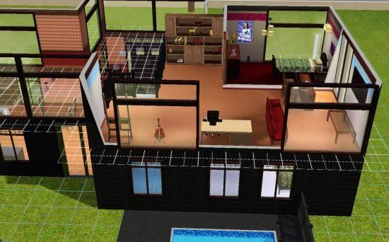 Ide Maison Sims 3. Stunning Best Maison De Luxe Moderne Sims ...