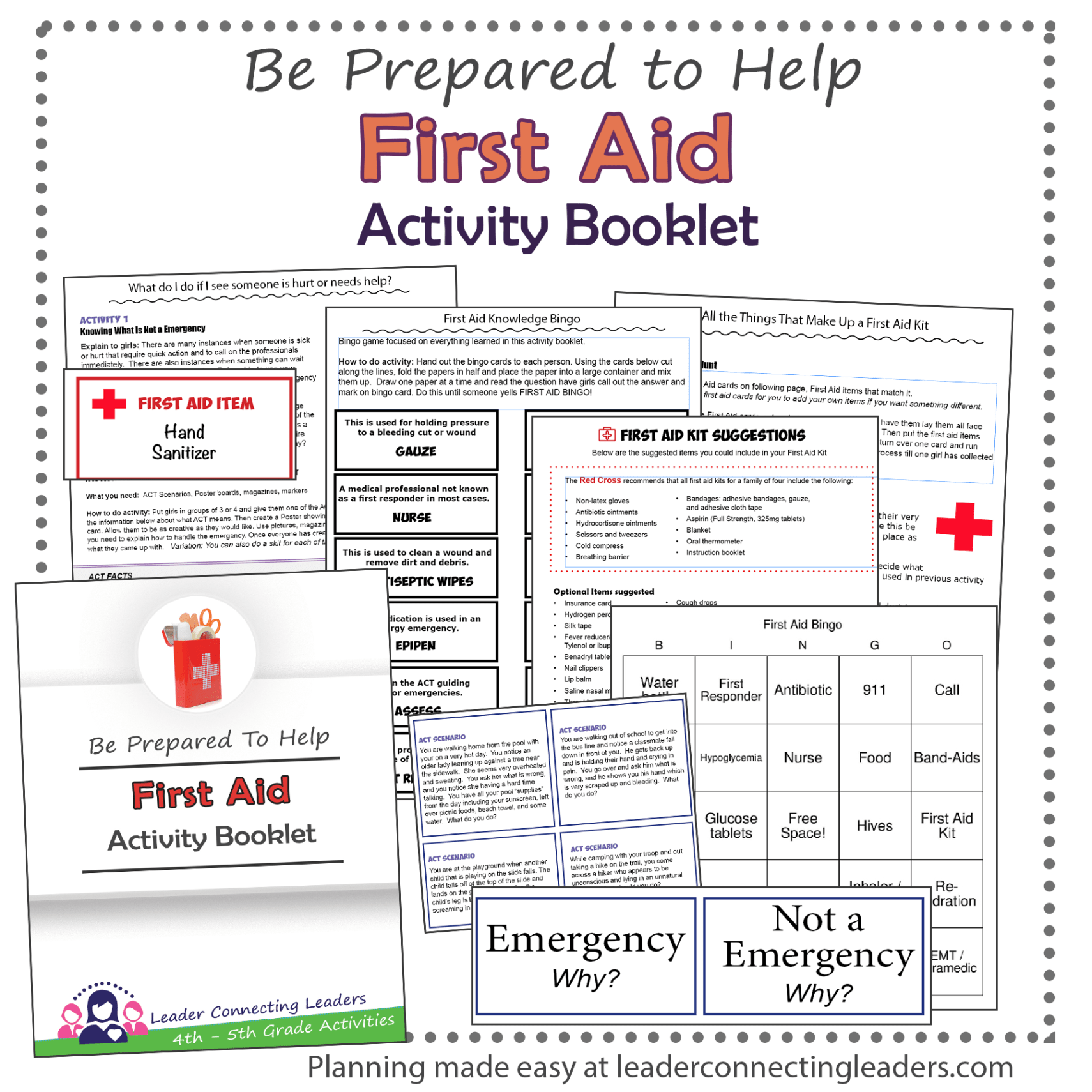 First Aid Activity Booklet 4th