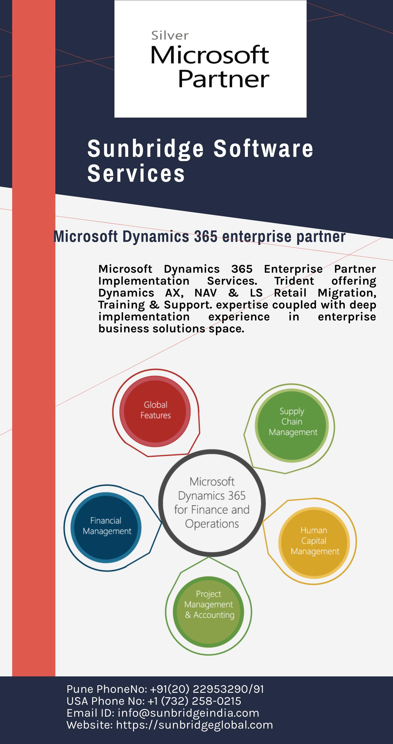 Sunbridge Software Services Pvt  Ltd  is your trusted partner for