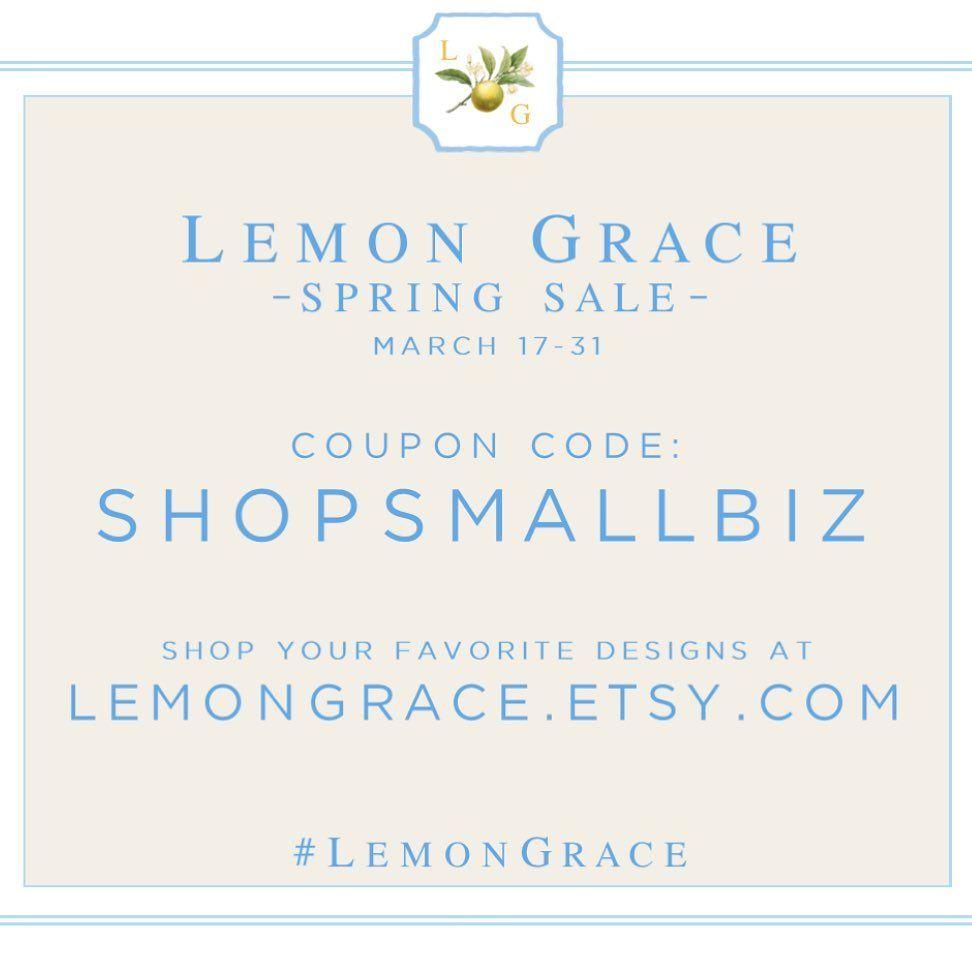 Lemongrace Jacquelyn Collins On Instagram S P R I N G S A L E At Lemon Grace Shop Your Favorite Designs At Lemongrace Etsy In 2020 Collins Instagram Coding