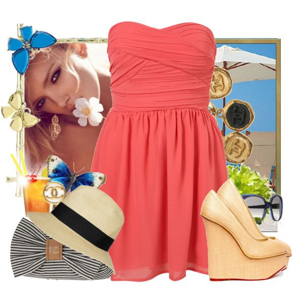 summer, created by maria3685 on Polyvore