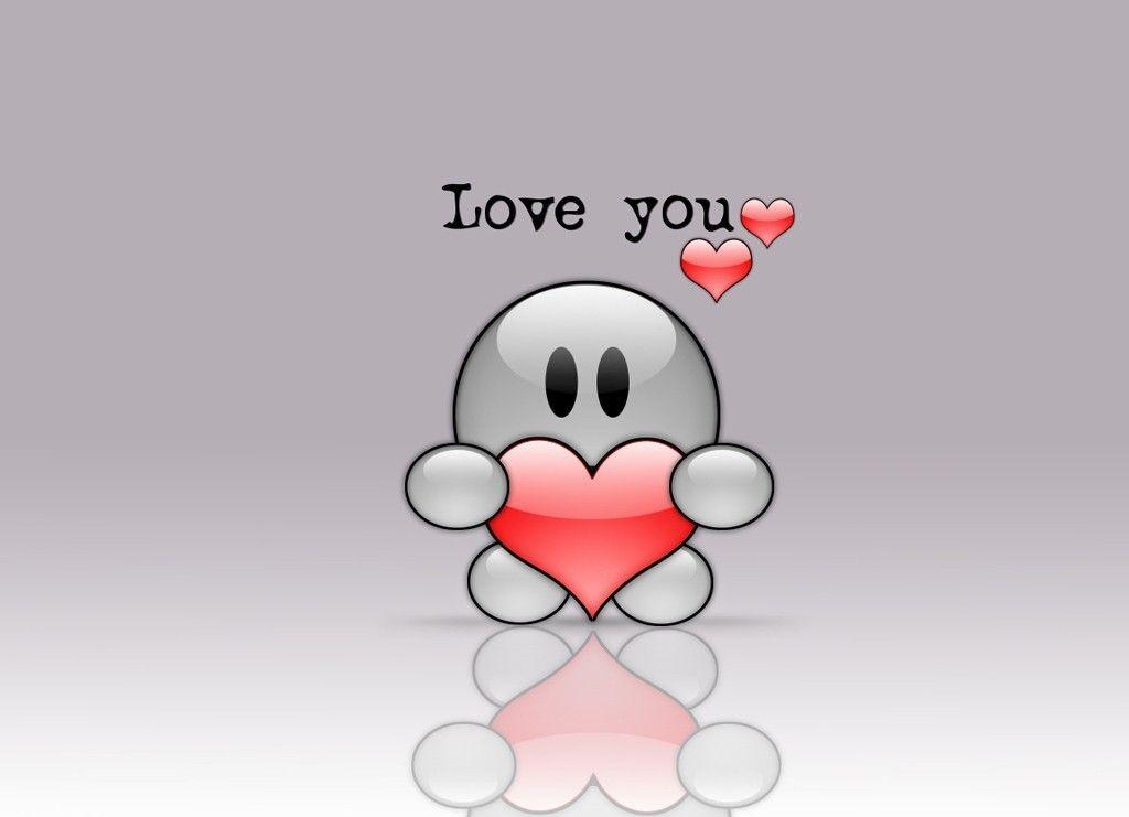 Beautibul Animation Hearts Cartoon Love Hearts Beautiful Photo