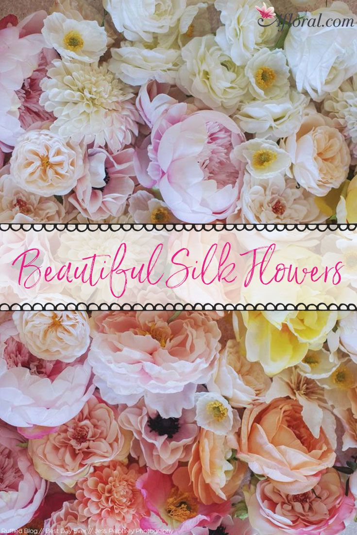 Use Aflorals Premium Faux Flowers For Your Diy Designs